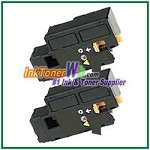 Xerox 106R01630 Compatible Black Toner Cartridge for Phaser 6000, 6010 series - 2 Piece
