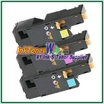 Xerox 106R01627-29 Compatible Toner Cartridges for Phaser 6000, 6010 series - 3 Piece Combo
