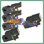 Xerox 106R01627-30 Compatible Toner Cartridges for Phaser 6000, 6010 series - 5 Piece Combo