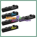 Xerox 106R02225-28 Compatible High Yield Toner Cartridges for Phaser 6600 6605 series - 5 Piece Combo