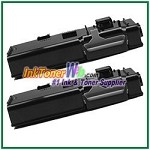 Xerox 106R02228 Compatible High Yield Black Toner Cartridge for Phaser 6600 6605 series - 2 Piece